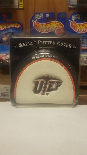 Texas El Paso Miners Mallet Putter Cover, white for Sale in Whittier, CA