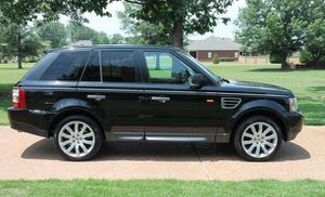 Black 2OO5 RangeRover HSE AWDWheels Good for Sale in Montgomery, AL