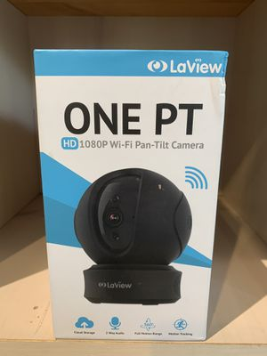 LaView ONE PT Home Security Wi-Fi IP Camera Full HD 1080P Pan/Tilt for Sale in Raleigh, NC