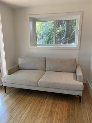 West Elm Andes Sofa - grey couch for Sale in Los Angeles, CA