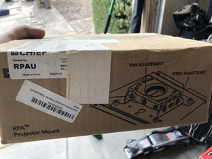 Chief RPAU projector mount for Sale in Scottsdale, AZ
