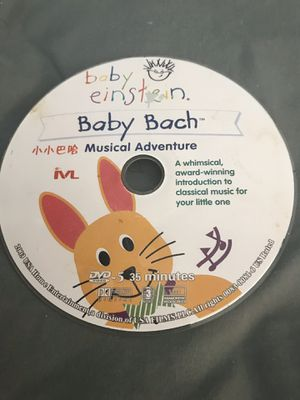 Baby Einstein Baby Bach Musical Adventure 35 Minutes for Sale for sale  Wildomar, CA