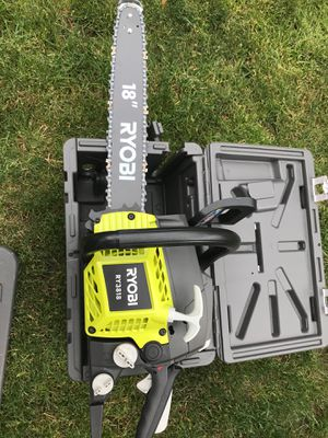"""18"""" Ryobi chainsaw. 5 available. for Sale in Chicago, IL"""