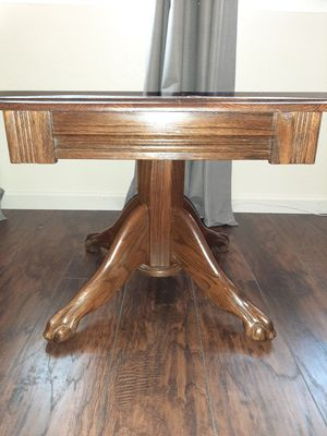 Solid Oak End Table for Sale in Visalia, CA