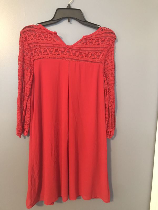 Red And Black Dresses size L