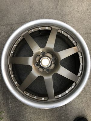 Acura integra alloy rims 18 inch 4x100mm bolt Pattern for Sale in Downey, CA