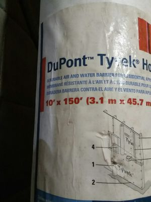 DuPont tyvek for Sale in Baltimore, MD