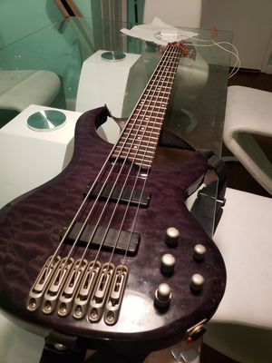 BTB 6-string bass guitar with new strings for Sale in Washington, DC