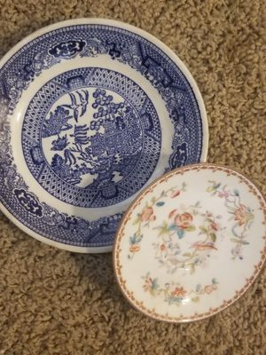 my two favorites happen to be the last two and the most valued. selling together or sep. 1900s luxury Antique china for Sale in Vancouver, WA
