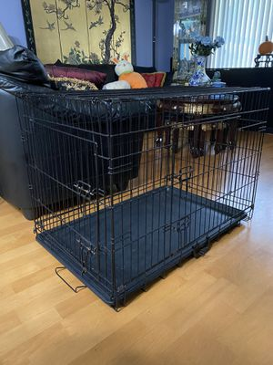 2-Door Folding Dog Crate for Sale in Des Plaines, IL