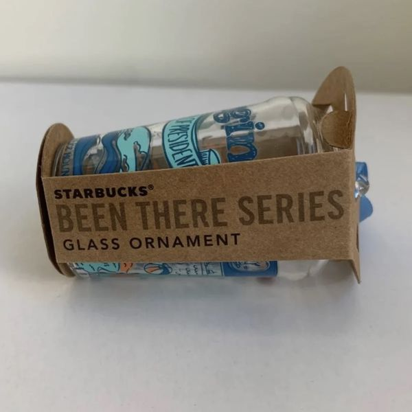 Starbucks Glass Ornament Virginia