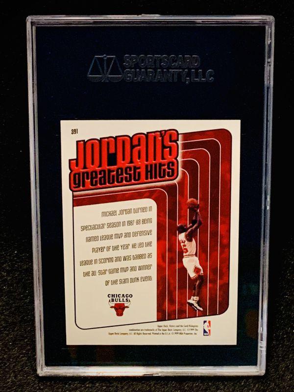 1999-00 Upper Deck Victory Michael Jordan SGC 10 Gem Mint