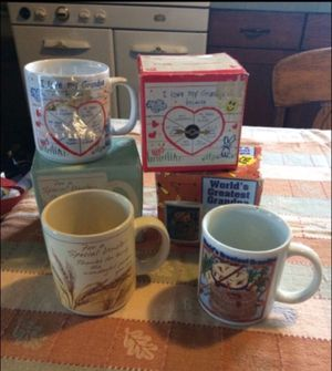 Lot of 3 family mugs for Sale in Milnesville, PA