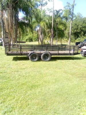20'x5' equipment trailer for Sale in Englewood, FL