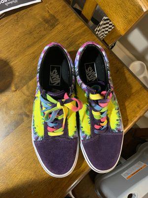 Vans Tie dye for Sale in San Antonio, TX
