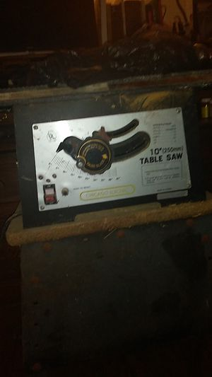 Chicago electric table saw for Sale in San Diego, CA