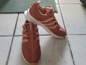 """Adidas Womens SL Loope Sneakers Brown Cushioned C77010 Drawstring Low Top US 7.5. Condition is """"Pre-owned"""". Shipped with USPS Priority Mail. for Sale in Cutler Bay, FL"""