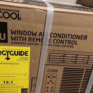 Window AC 6000 BTU for Sale in Bakersfield, CA