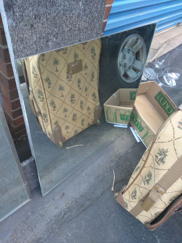 !!! Large mirrors $10 each ...thick