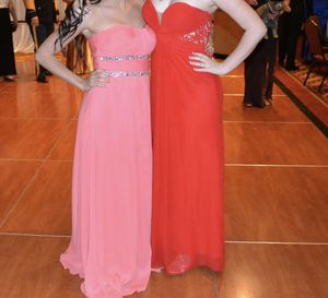 Red prom / formal / ball dress medium for Sale in Dallas, TX