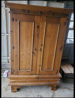 Beautiful Wooden Armoire/Wardrobe/Closet/TV Cupboard for Sale in Chicago, IL