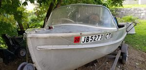 Cadillac boat 1958 runs works with trailer for Sale in Ansonia, CT
