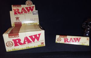 💥Brand New RAW Organic King Size rolling Papers for Sale in Elmendorf, TX