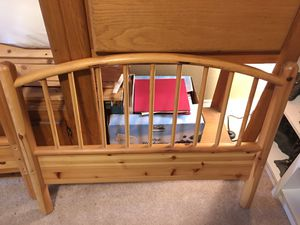IKEA wooden twin bed frame for Sale in Covington, WA