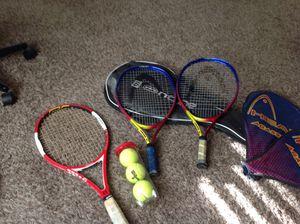 Tennis rackets bundle for Sale in Sanger, CA