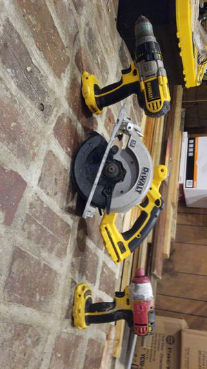 Dewalt impact, drill, and circular saw for Sale in Chicopee, MA