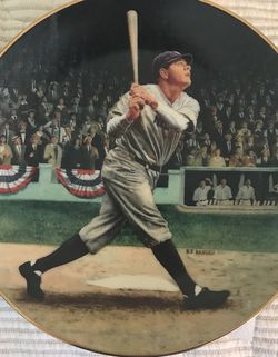 Collectible Plate: Babe Ruth for Sale in Broomfield,  CO