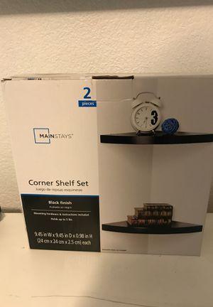 Corner shelf set for Sale in Las Vegas, NV