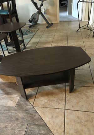 Coffee & Two matching end tables for Sale in Waxahachie, TX