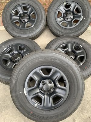 Jeep wrangler wheels for Sale in Bloomington, CA