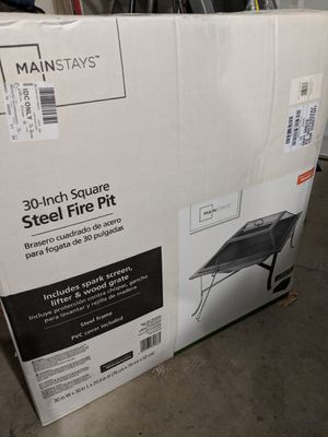 Brand new Mainstays outdoor fire pit for Sale in Peoria, AZ