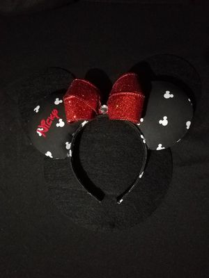 Disney Inspired Black and White Minnie Ears for Sale in Hialeah, FL