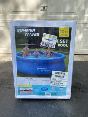 Summer Waves 10ftx30in Quick Set Pool for Sale in Farmington Hills, MI