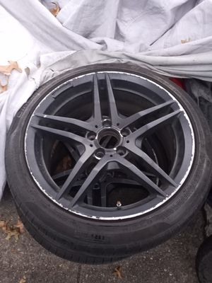 Mercedes rims all 4 tires are good 150$ for Sale in Queens, NY