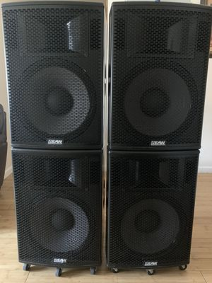 speakers not amplified for Sale in The Bronx, NY