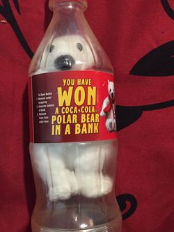 Vintage Coca Cola Bottle With Bear for Sale in Crewe,  VA