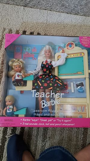 Teacher Barbie NRFB for Sale in Orland Park, IL