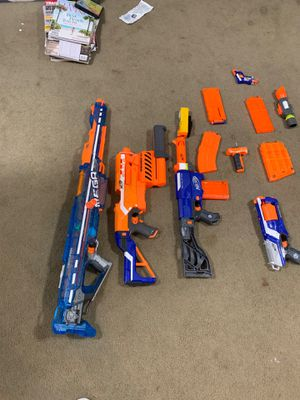 Nerf Guns and Accessories for Sale in Gaithersburg, MD