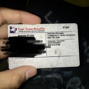"""""""Your Texas Benefits"""" Card for Sale in Houston, TX"""