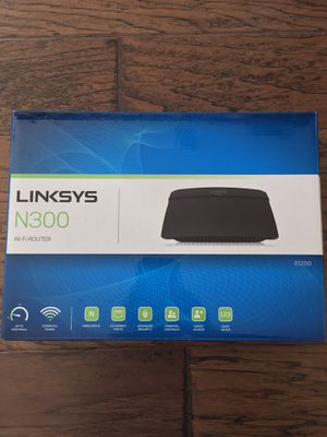 Linksys N300 WiFi router for Sale in Cypress, TX
