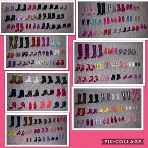 Barbie shoes lote for Sale in Burlington, NC