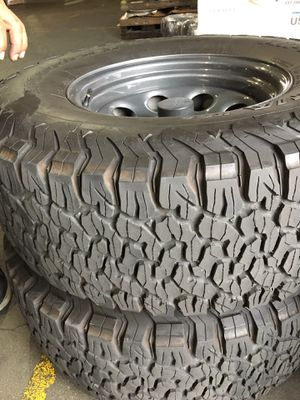 BF Goodrich Tire with US Wheel crawler mounted and balanced for Sale in Huntington Beach, CA