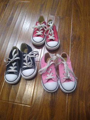 Converse size 8 sneakers for Sale in Clearwater, FL