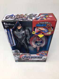 """Avengers Endgame Titan Hero Power Fx Captain America 12"""" Action Figure Hasbro for Sale in Margate,  FL"""