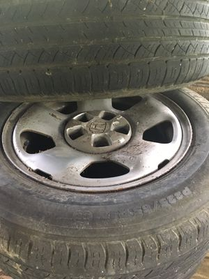 Set of four Michelin tire and rims P225/65 R17 for Sale in Miami, FL