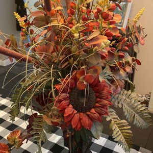 Dried Flower Arrangement With Vase for Sale in Corona, CA